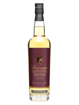 Compass Box Hedonism is sourced from distinguished distillers like Cameron Bridge, Carsebridge, Cambus, Port Dundas and Dumbarton