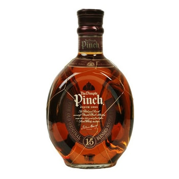The Dimple Pinch is a 15-year-old blended whisky produced by John Haig & Co.