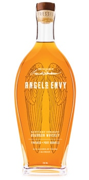 Angel's Envy Bourbon is aged in American white oak barrels for four to six years