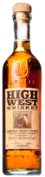 High West American Prairie Reserve is bottled in Park City, Utah