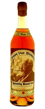 Pappy Van Winkle's 23-Year-Old Bourbon, drink it neat