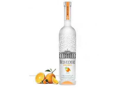 Belvedere Orange, one of GAYOT's Top 10 Flavored Vodkas
