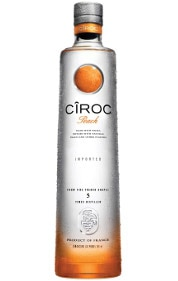 Ciroc is the only major vodka brand that's produced from grapes