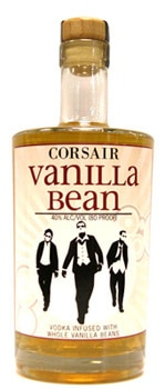 Corsair Vanilla Bean Vodka is made from whole bourbon vanilla beans