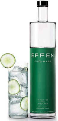 Find more great flavored vodkas like Effen Cucumber