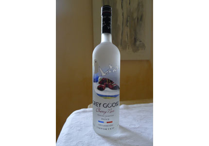 Grey Goose Cherry Noir is made from rare black cherries