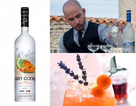 Grey Goose Le Melon, one of Gayot's Top 10 Flavored Vodkas