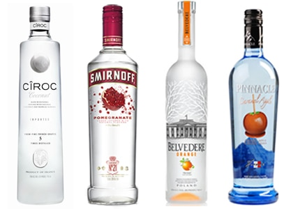 Check out GAYOT's Top 10 Flavored Vodkas for flavors sure to entice a wide range of tastes