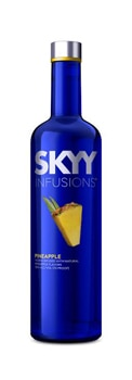 SKYY Pineapple Vodka is part of the brand's infusion line