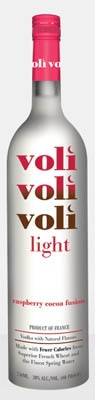 Voli Light Vodkas, Raspberry Cocoa Fusion