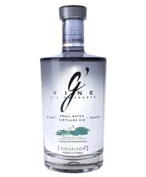 G'Vine Nouaison is distilled with green grape flowers from Cognac
