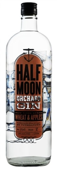 Half Moon Orchard Gin from Tuthilltown Distillery in New York