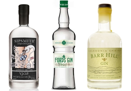GAYOT's Top 10 Gins offer a wide range from around the world