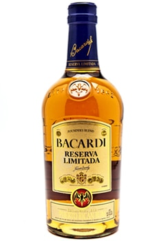 Bacardi Reserva Limitada, one of our Top 10 Rums
