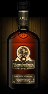 Bunnahabhain 18 Year Old is an un-chill-filtered Single Malt that made our list of the Top 10 Single Malt Scotch