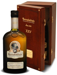 Bunnahabhain 25 Year Old is an un-chill-filtered Single Malt that made our list of the Top 10 Single Malt Scotch