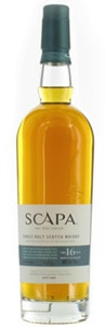 Scapa 16 Year Old the Orcadian shares the Orkney Islands with Highland Park, another distillery on GAYOT.com's Top 10 Single Malt Scotch list