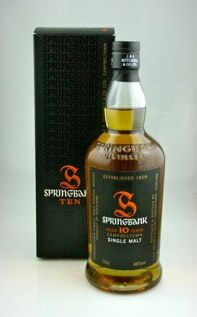 The full and luscious Springbank 10 Year Old 100 Proof hails from Campbeltown, Scotland, and made GAYOT's list of the Top 10 Single Malt Scotch