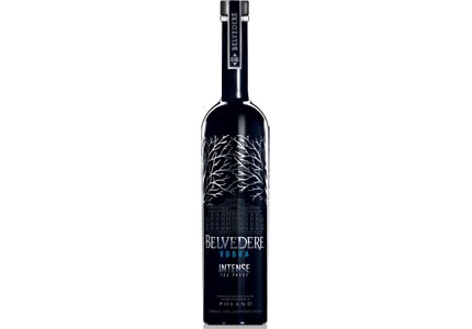 Belvedere Intense is crafted from 100 percent Single Estate Dankowskie Diamond Rye