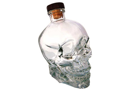 Crystal Head Vodka was founded by comedian Dan Aykroyd