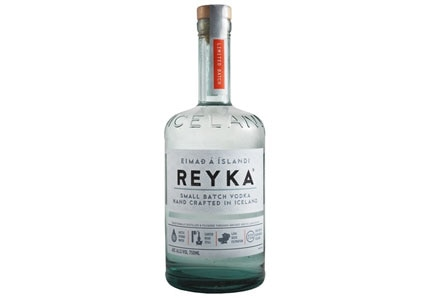 Reyka Vodka is from Iceland