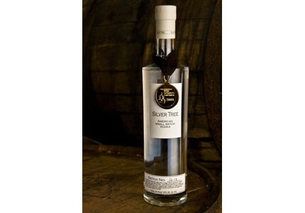 The US-made Silver Tree American Small Batch Vodka is a light and clean potato vodka