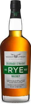 Made in Colorado, Woody Creek Straight Rye is aged in new American white oak barrels
