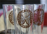 Glasses at the Oregon Brewers Festival, July 26-29, image by Andy Orenstein