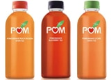 POM Pomegranate Peach Passion White Tea, Blackberry Tea and Lychee Green Tea