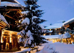 Les Fermes de Marie in Megeve, France --- a great destination for skiing