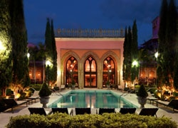 The Moorish-inspired Spa Palazzo at the Boca Raton Resort in Florida