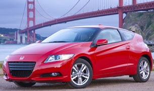 The sporty, driver-focused 2011 Honda CR-Z