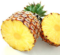 Pineapples are loaded with potassium and vitamin C