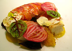 A sexy treat from Corton in NYC --- View our lists to find a restaurant that will set the mood for love