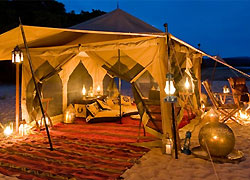 Lukulu Camp at Tanzania's Selous Game Reserve, one of our Top 10 Romantic Hotels in the World