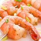 Try our recipe for shrimp seasoned with peanuts and cilantro and served with brown rice and edamame