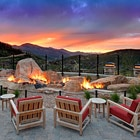 The Mountain Terrace  of The St. Regis Deer Crest Resort in Utah, one of our Top 10 Ski Resorts