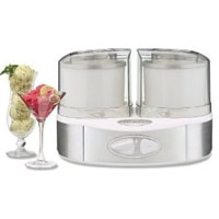 Cuisinart ICE-40 Flavor Duo Frozen Yogurt-Ice Cream & Sorbet Maker