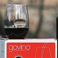 Govino Wine Glasses are made from a BPA-free, shatterproof polymer