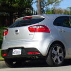 The 2012 Kia Rio 5-Door SX, a stylish, fully loaded entry-level 5-door hatchback