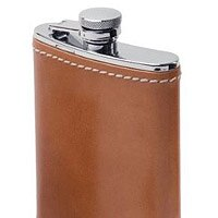 Leather-wrapped flasks, luxe bar tool kits and more for the imbibers in your life