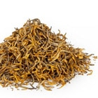TeaVivre Yun Nan Dian Hong Black Tea is golden and light in taste