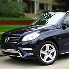 2013 Mercedes-Benz ML550, one of GAYOT's Top 10 Cars for Moms