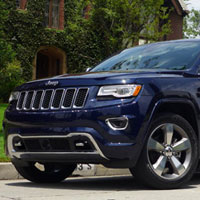 2014 Jeep Grand Cherokee Overland 4x4, one of GAYOT's Top 10 SUVs