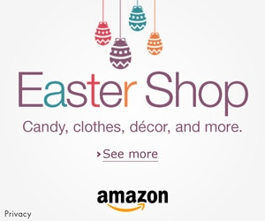 Easter Shop on amazon.com: decor, clothes, candy and more!