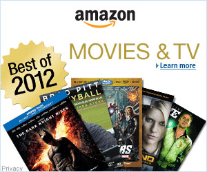 The Best Movies & TV of 2012