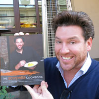Chef Scott Conant of Scarpetta with his third recipe book