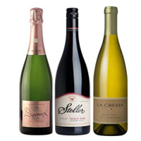 Our top seafood wine selections include elegant sparklers, crisp whites and light reds