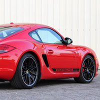 The quick, light and overall fun Porsche Cayman R, one of GAYOT's Top 10 Sports Coupes