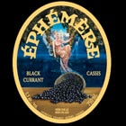 Unibroue Ephemere Blackcurrant: Champagne-like, tart and refreshing